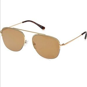 Tom Ford Abott FT 0667 Gold/brown Men Sunglasses